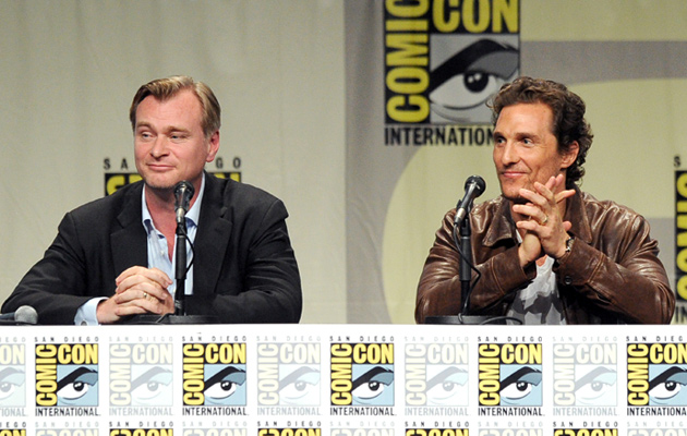 christopher-nolan-matthew-mcconaughey-interstellar-comic-con-2014