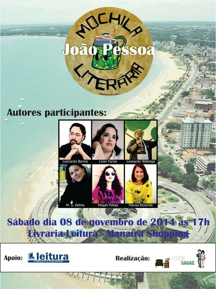 Mochila Literária João Pessoa