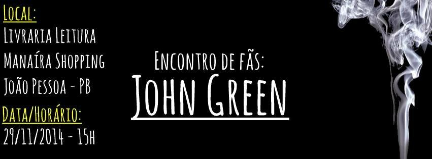 john green joão pessoa