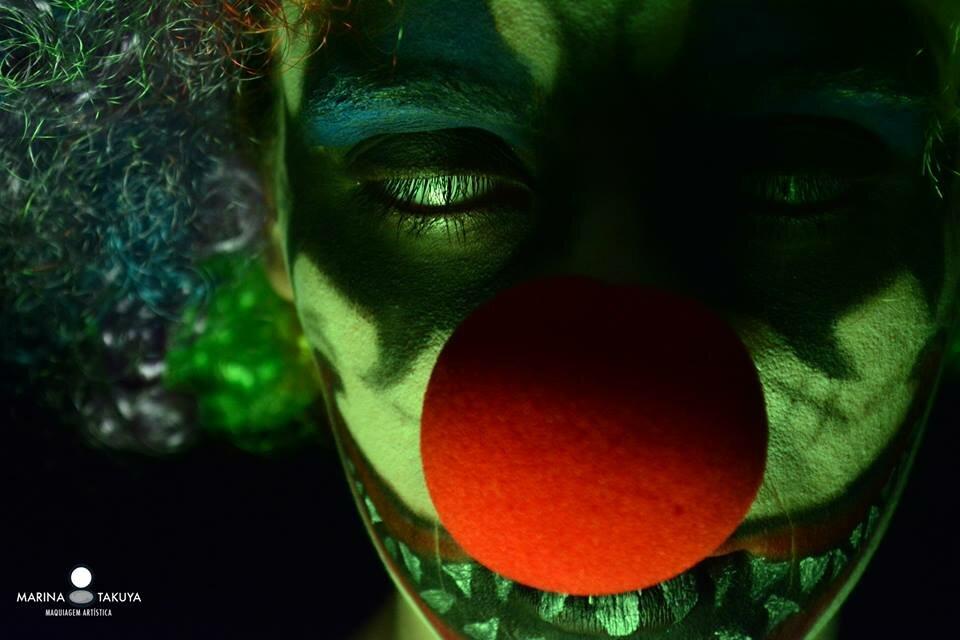 maquiagem halloween 3