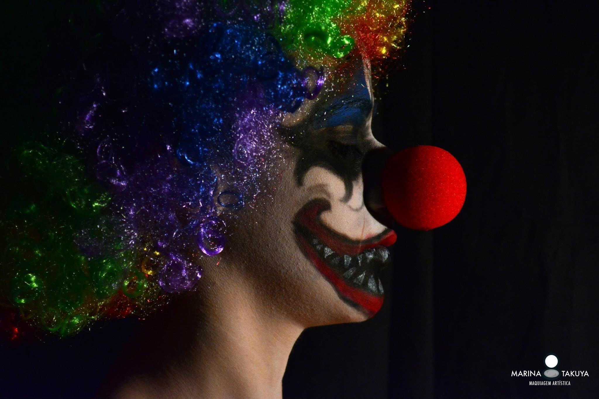 maquiagem halloween 4
