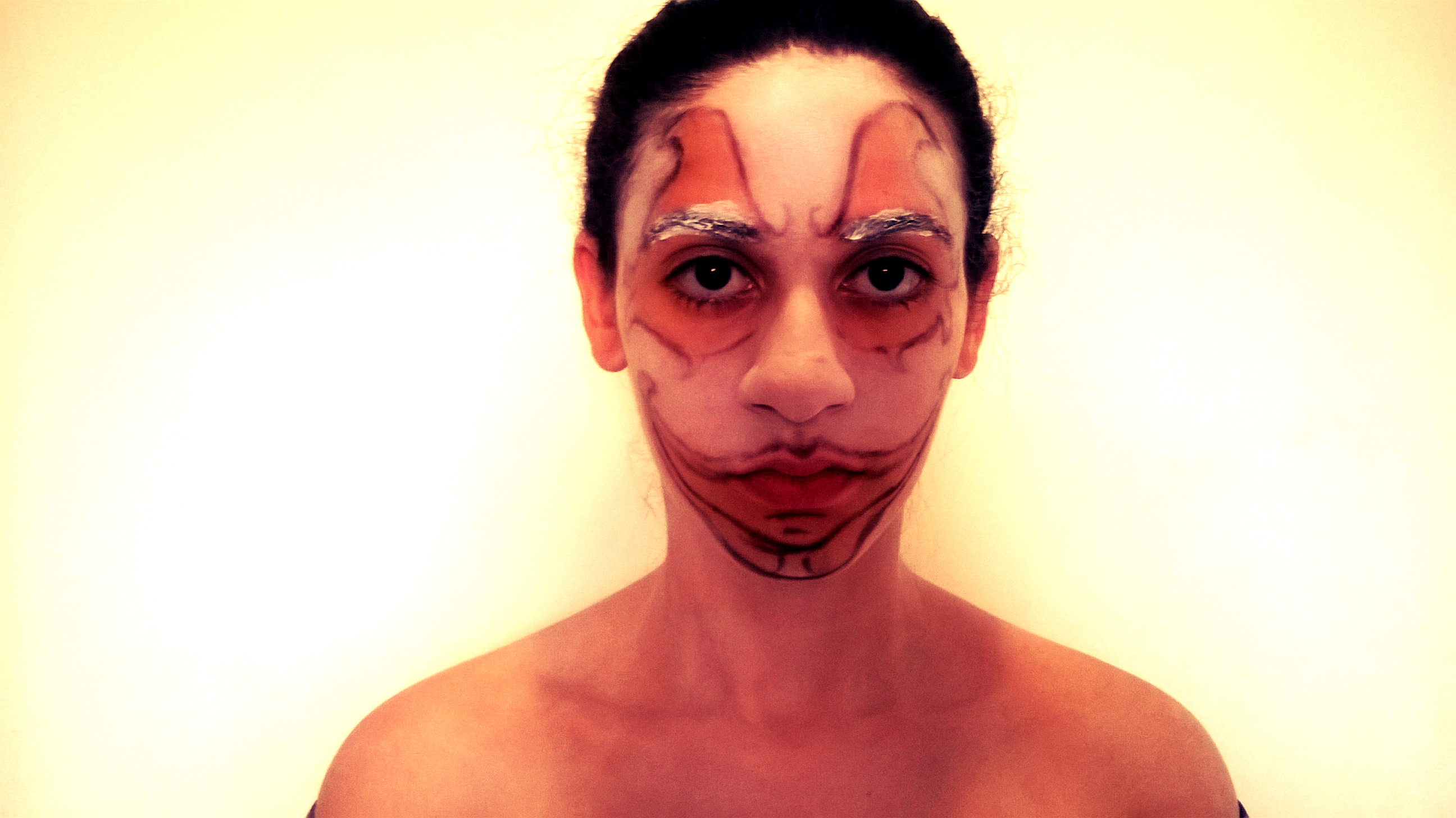 maquiagem halloween parte 3
