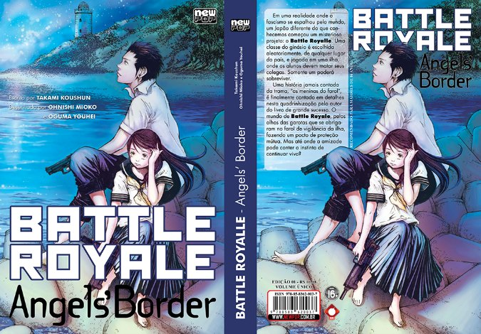 Battle Royale- Angels' Border, Koushun Takami, Ohnish Mioko