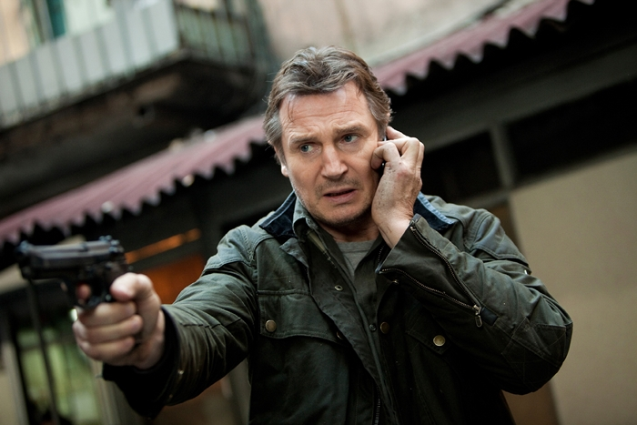 "Liam Neeson in a scene from the motion picture ""Taken 2."" Photo by Magali Bragard, 20th Century Fox [Via MerlinFTP Drop]"