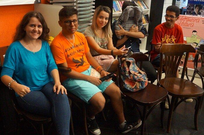 Evento Magnus Chase em João Pessoa - blogueiros