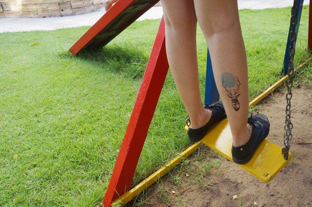 Tattooux - Tatuagem temporária cervo