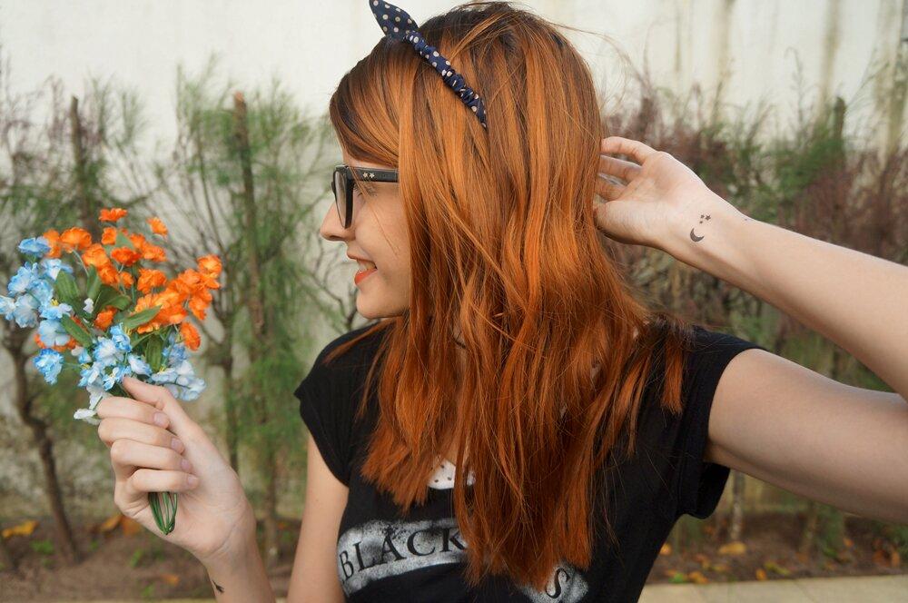 Tattooux - Tatuagem temporária space no pulso