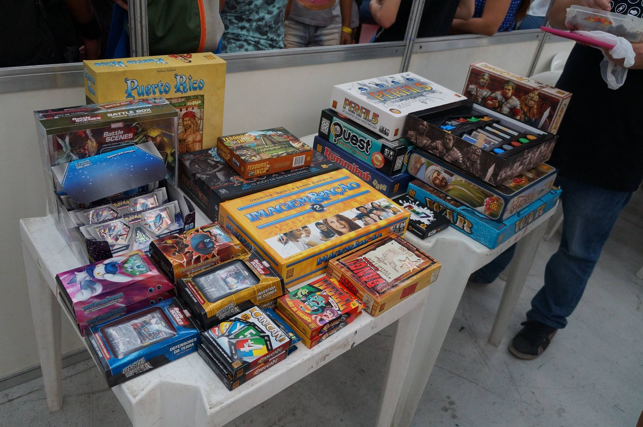Boardgames no HQPB 2016