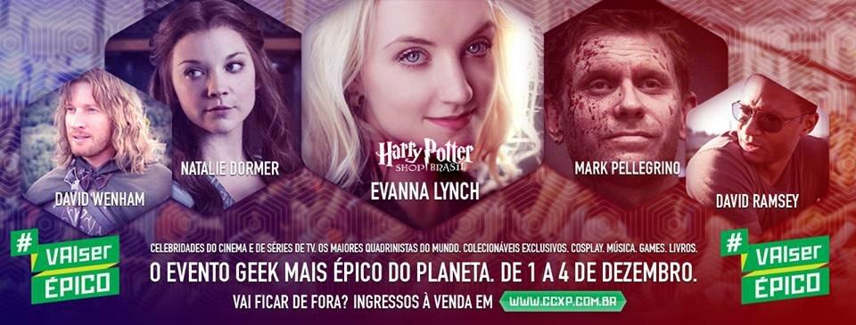 Comic Con Experience 2016 #VaiSerÉpico