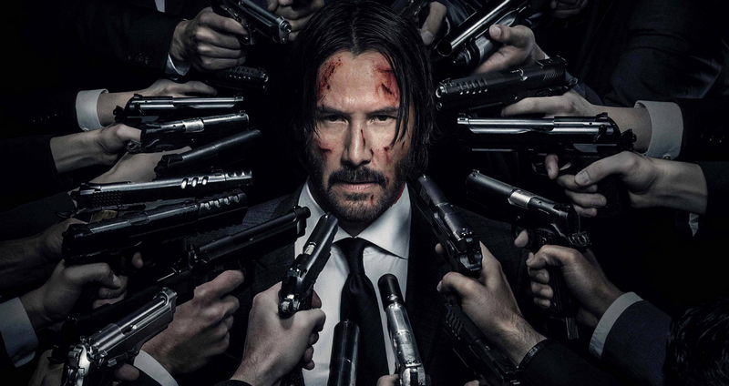 Keanu Reeves em John Wick: Chapter 2